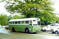 Slide 040-68 (Steve Guess) Tags: uk england bus green transport surrey corporation gb iv regal ipswich parkroyal ict aec bpv8 9822e