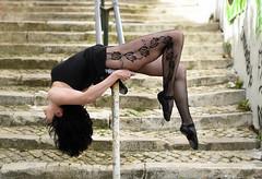 rose it up (Jose Antonio Pascoalinho) Tags: woman art classic stockings beauty female pose dance model modeling outdoor feminine dancer grace sensual sensuality lex stais femmme zedith