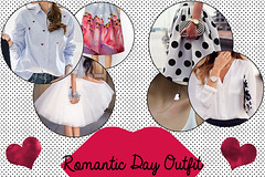 S. Valentine's Day Outfit 1 (New York can wait...) Tags: love fashion shirt outfit shoes day skirt valentine ring special valentines date lovely tulle blouses accessorize ootd