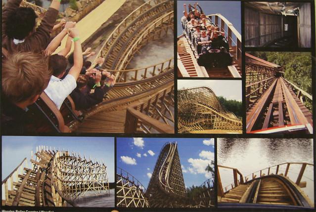 Wooden Rollercoaster Storyboard