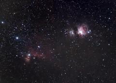 Orion Nebula, Running Man Nebula, Horse Head Nebula and Flame Nebula (Waheed Akhtar Photography) Tags: sky dubai space sony uae astro nebula astrophotography orion lacerta orionnebula deepsky horseheadnebula flamenebula mgen runningmannebula autoguider a7s deepskyobjects waheedakhtar sonya7s exploreuae orioncluster lacertamgenautoguider mgenautoguider