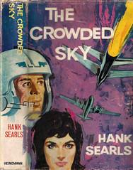 The Crowded Sky (54mge) Tags: fiction book novel dustjacket fratini