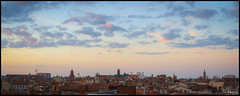 Toulouse rooftops (FloArmengaud) Tags: sunset sky rooftops toulouse carmes