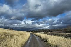 Walla Walla Walkin (acase1968) Tags: park lake mill clouds creek lens ed washington nikon cloudy trail d750 nikkor storms cloudporn mostly vr afs bennington between wallawalla partly rooks f4g 24120mm