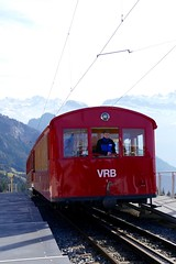 Rigi Bahn Mountain Railway Switzerland (roli_b) Tags: mountain mountains car schweiz switzerland europe suisse suiza railway cable berge cablecar svizzera bahn lucerne montañas weggis rigi bergbahn 1871 vitznau goldau bahnen mountrainrailway
