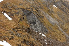 Fraoch Bheinn Landslide (RoystonVasey) Tags: mountain canon eos scotland zoom m 1855mm stm loch corbett arkaig sgurr bheinn fraoch strathan mhurlagain