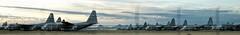 boneyard (rovingmagpie) Tags: arizona tucson airplanes planes boneyard bookmark airforcebase davismonthanairforcebase christmas2015