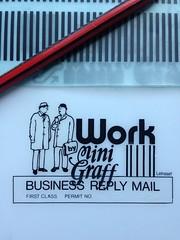Work by Mini Graff (sicker) (Miss Mini Graff) Tags: letraset positives stickers sticker screenprint positive workbyminigraff adelaide minigraff february 2016