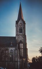 Church (philipp_mitterlehner) Tags: street light church austria retro