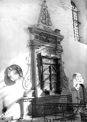 Synagoga żydowska. Szydłowiec.
