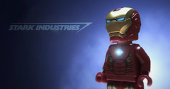Iron Man (hachiroku24) Tags: man iron lego tony superhero minifig marvel stark industries invincible minifigure