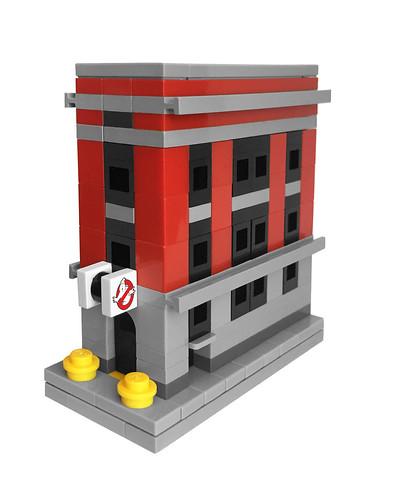 LEGO Mini Ghostbusters Firehouse