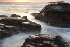 Rocks (appi U) Tags: sunset seascape japan coast  kanagawa