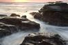 Rocks (appi U) Tags: sunset seascape japan coast 日本 kanagawa 岩 夕日 海岸 神奈川 磯