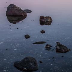 Rocks (Per-Karlsson) Tags: sea water stone reflections rocks sweden outdoor stillness tjrn canoneos6d