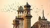 DSC_0469 (RizwanYounas) Tags: pakistan sunset reflection birds pk punjab derawar