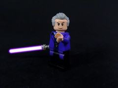 12th Time Jedi (MrKjito) Tags: light star lego time who sonic lord doctor saber jedi wars minifig screwdriver crossover