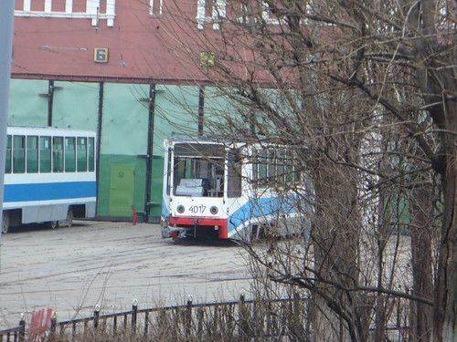 Moscow tram 71-608K 4017
