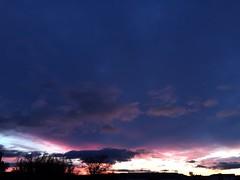 Ciel ce matin à 7h15 en partant travailler (karine_avec_1_k) Tags: winter sky cloud france sunrise soleil south hiver ciel nuage sud levé