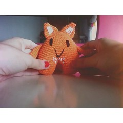 Mini Anderson (Miss Carlaina Love!) Tags: art animals kids toys handmade crochet fox amigurumi hmw