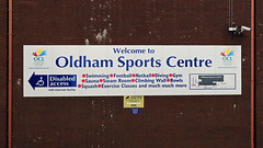 Oldham Leisure Centre (Craig Hannah) Tags: uk england abandoned sport town swimmingpool disused oldham derelict sportscentre redevelopment 2016 greatermanchester oldhamleisurecentre craighannah