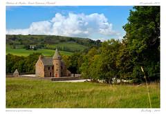 Chteau de Combes (Saint-Saturnin-Cantal) (BerColly) Tags: autumn sky france castle clouds automne google flickr ciel chateau nuages auvergne cantal bercolly