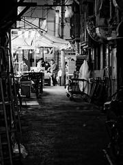 To Market (H.H. Mahal Alysheba) Tags: street monochrome japan night lumix tokyo ueno snapshot elmarit 45mmf28 gx7 leicadg