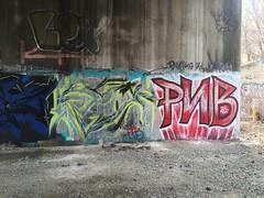 IMG_2083 (Hypurban) Tags: nyc newyork graffiti newjersey jerseycity traintracks jersey nycgraffiti urbex traintunnel underfreeway nygraffiti nygraff graffitiyards nycgraff