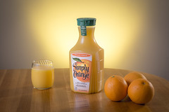 Simply Orange_Spec Ad (Jeff Burt) Tags: orange georgia us unitedstates drink gainesville orangejuice tethered tabletop teather woodtable productphotography