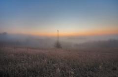 Brumes matinales (ptimat) Tags: morning winter light france cold fog sunrise landscape brume isre