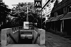 """Montenapoleone Entry Underground Station"" (giannipaoloziliani) Tags: street city windows urban blackandwhite italy milan detail scale monochrome station fashion underground monocromo blackwhite flickr downtown italia metro top milano famous centro moda citylife streetphotography style stop shops access metropolis chic mode stazione luxury lombardia metropolitana entry biancoenero signatures citt elegance lusso griffe boutiques fashioncentre montenapoleone firme vetrine negozi mailand accesso urbanstreet entrata fermata  metropoli  urbanblackandwhite fashionworld milancity    luxuo"