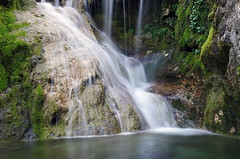 waterfall (SS) Tags: longexposure italy plant nature colors forest moss pentax lazio k5 monteguadagnolo smcpentaxda1855mmf3556alwr ss