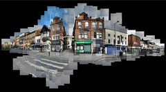 King's Walk, Nottingham (ldjldj) Tags: nottingham collage walk kings montage photomontage hockney joiner nottinghamshire panograph