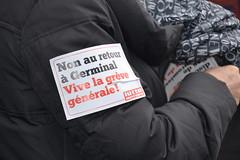 Manif contre la loi El Khomri  Paris (Jeanne Menj) Tags: paris demonstration travail manif manifestation loi germinal medef lutteouvrire elkhomri loitravail