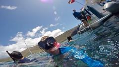 Like My Mask? (minimi007) Tags: sea summer water sunshine outdoors hawaii boat us day diving bluesky maui scubadiving blueskies lanai watersport gopro goprohero kesa snorkeln gopro4 gopro4black