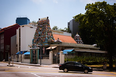 (the.redhead.and.the.wolf) Tags: road landscape temple singapore hinduism