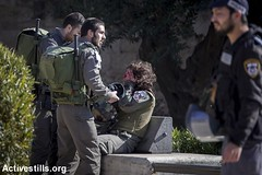 Damascus gate, old city, East Jerusalem 3.2.2016 (activestills) Tags: jerusalem attack violence soldiers oldcity injuries israeliarmy occupation borderpolice topimages faizaburmeleh