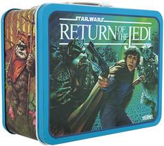1983 Return of the Jedi lunchbox - Luke Skywalker (Tom Simpson) Tags: vintage starwars ewok 1983 lunchbox lukeskywalker 1980s returnofthejedi gammoreanguard