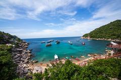 IMG_8988_edited-1 (Lauren :o)) Tags: ocean blue sea sky beach clouds thailand island paradise kohtao turtleisland desertisland