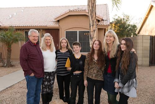 Mitch, Abbe, Jake, Emily, Marva, Lauren