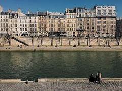Paris (Marcosnr92) Tags: old city sky paris water architecture river landscape photography gold europe photographer place horizon beatiful iphone vsco vscocam iphone6s shotoniphone6s