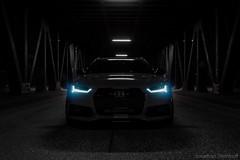 RS6 - Beast at night (Jonathan Steinhoff) Tags: bridge car night photography hamburg audi hafencity quattro rs6 620ps
