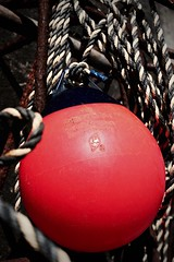 Ball (Sasha Smee) Tags: old pink red sea canon vintage ball fishing rusty crab rope catching 600d