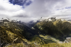 Akeaflys (K Michael F C) Tags: new camping bird trekking river mt hiking zealand valley kea aspiring cascadesaddle