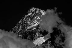 Un Soir sur le Chardonnet (Frdric Fossard) Tags: art montagne alpes lumire altitude glacier contraste nuage chamonix clart abstrait hautesavoie sommet surraliste chardonnet luminosit massifdumontblanc