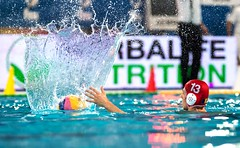 FINA Men's Water polo Olympic Games Qualifications Tournament 2016 - Trieste (ITA) (fina1908) Tags: blue italy white men fina ita trieste waterpolo olympicgames qualification 2016 pallanuoto tournament2016 13mariusticgkredcaprou