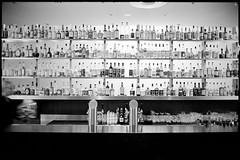 drug store (look-book) Tags: blackandwhite bw white black berlin blancoynegro film bar analog hotel blackwhite foto noiretblanc trix d76 fotos hyatt sw konica analogue kb alc hexar lookbook selfdeveloped 24x36 analogous analogicas anlogo