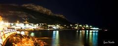 Panoramica sferracavallo (nardocorse) Tags: mare palermo lungomare notturno sferracavallo