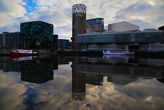 Salford Quays (David Chennell - DavidC.Photography) Tags: reflection manchester salfordquays lancashire salford