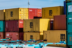Moving Some Goods (jasonnelson442) Tags: container shipping freight transporation commerece